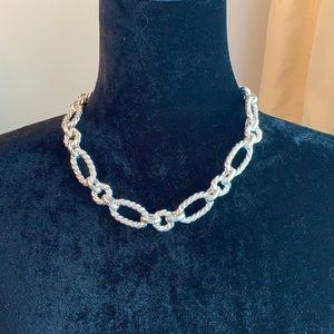 Ross Simons Chunky Italian Silver Link Necklace